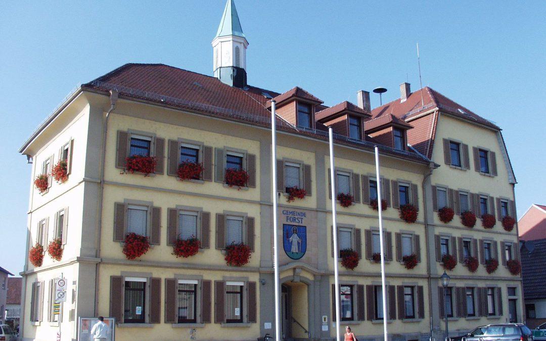 Gemeinderat Forst wird über das Katastrophenschutzkonzept informiert