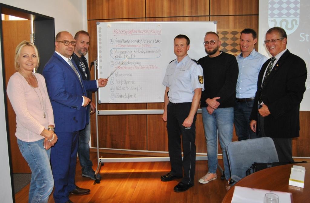 Schulung der Gemeindeverwaltung Oftersheim